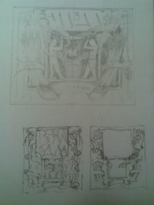 schets gevelsteen